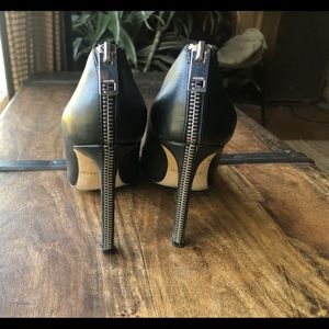 Killer Diesel black pumps w/ back zippers SZ 38